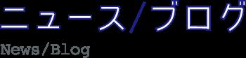 ニュース / ブログ News / Blog
